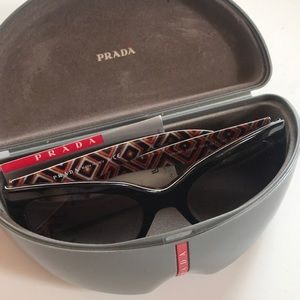 Prada Black Cateye Sunglasses
